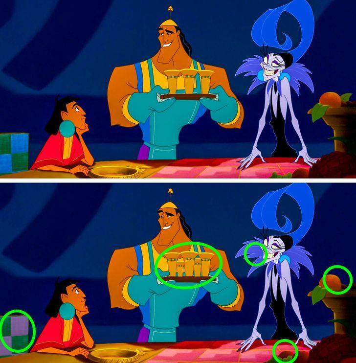 Tìm được hết điểm khác biệt trong 5 bức tranh, bạn chính là thiên tài-8