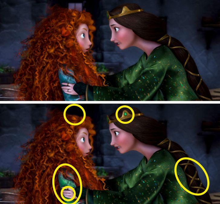 Tìm được hết điểm khác biệt trong 5 bức tranh, bạn chính là thiên tài-9