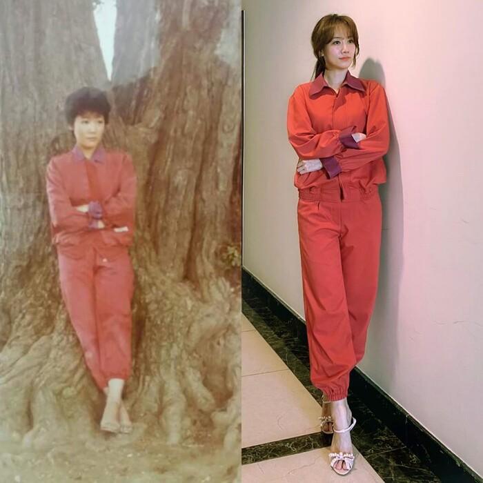 Cùng cosplay mẹ: Thúy Ngân - Hari Won ngầu lòi nhìn sang Lan Ngọc chỉ biết cười lả-2
