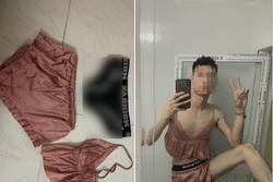 Thanh niên 'cứng' đích thân mặc đồ ngủ sexy của bạn gái để quên rồi 'thanh lý',  thu hồi 'tình phí'