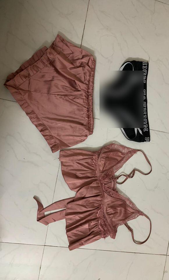 Thanh niên cứng đích thân mặc đồ ngủ sexy của bạn gái để quên rồi thanh lý,  thu hồi tình phí-3