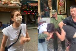HOT: Lưu Đê Ly và anti-fan ẩu đả, giật tóc túi bụi trên phố Hàng Buồm