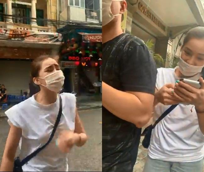 HOT: Lưu Đê Ly và anti-fan ẩu đả, giật tóc túi bụi trên phố Hàng Buồm-1