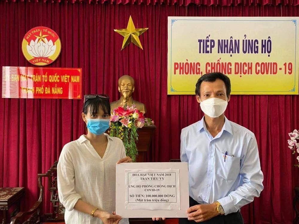 Tiểu Vy, Lệ Hằng ủng hộ, quyên góp 400 triệu cho Đà Nẵng - Quảng Nam-1