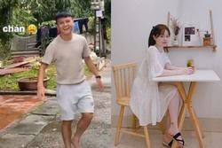 Huỳnh Anh check-in nhà Quang Hải, quay cảnh bạn trai chơi trò ném dép cực lầy