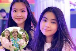 Bất ngờ nhan sắc 2 con gái MC Quyền Linh khi không xài app chỉnh ảnh