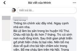 Nghi vấn bà nội ở Thái Bình tiêm thuốc chuột cho cháu vì không muốn nuôi?