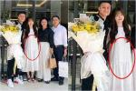 Người yêu Quang Hải liên tục mặc váy suông, để lộ vòng 2 to bất thường