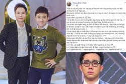 Trịnh Thăng Bình: 'Người bảo thủ, ganh tị mới phát ngôn chê Trấn Thành'