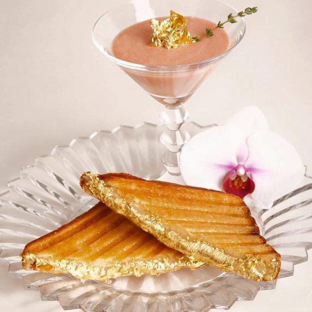 Những món ăn dát vàng chỉ dành cho giới siêu giàu-2