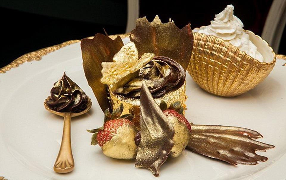 Những món ăn dát vàng chỉ dành cho giới siêu giàu-5