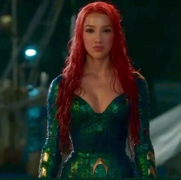 Bảo Thy được Võ Hoàng Yến khen nức nở khi hóa thân thành mỹ nhân Aquaman-1