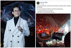 Hà Anh Tuấn kể lại sự cố nhớ đời về 'khung cửa sổ không khép' trên sân khấu