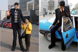 Người Trung Quốc bị gọi là 'sinh vật kỳ lạ' vì chiều cao 2,42 m