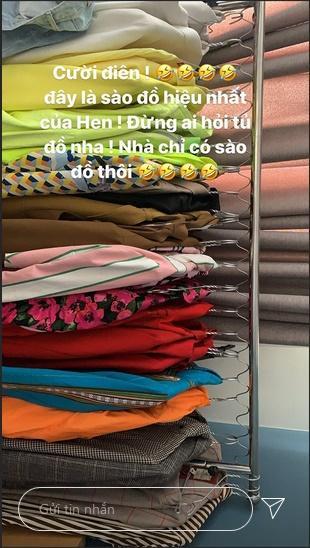 HHen Niê sở hữu sạp đồ hiệu như hàng bày bán chợ sinh viên sau 3 năm đăng quang-4