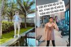 Đi tập gym, Noo Phước Thịnh khiến dân mạng 'hết hồn' vì tưởng đang mặc váy