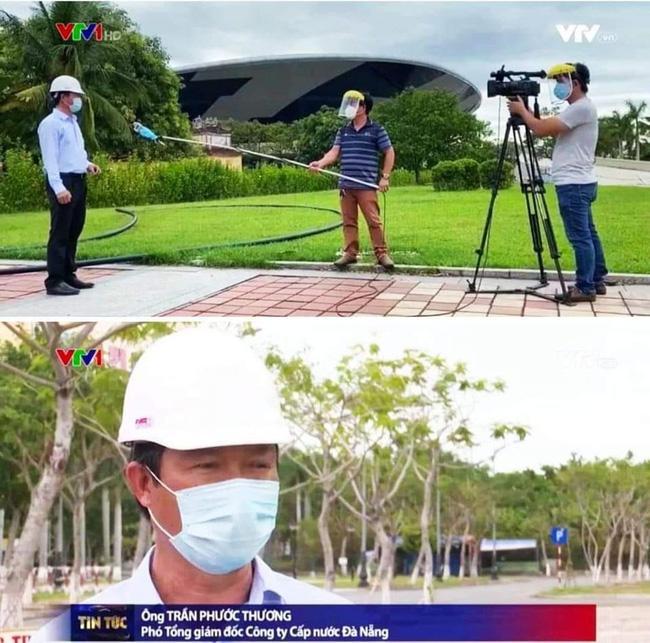 Hậu trường phỏng vấn thời Covid-19 của phóng viên VTV gây bão mạng-1