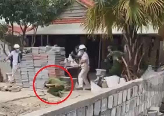 Đà Nẵng: Tấn công lực lượng chức năng vì bị nhắc nhở dừng xây dựng do dịch Covid-19-1