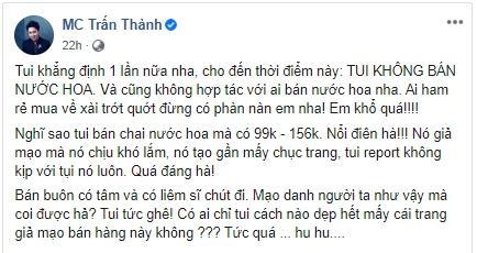 Trấn Thành và Hari Won bị mạo danh bán nước hoa fake chỉ từ 99.000 đồng-3