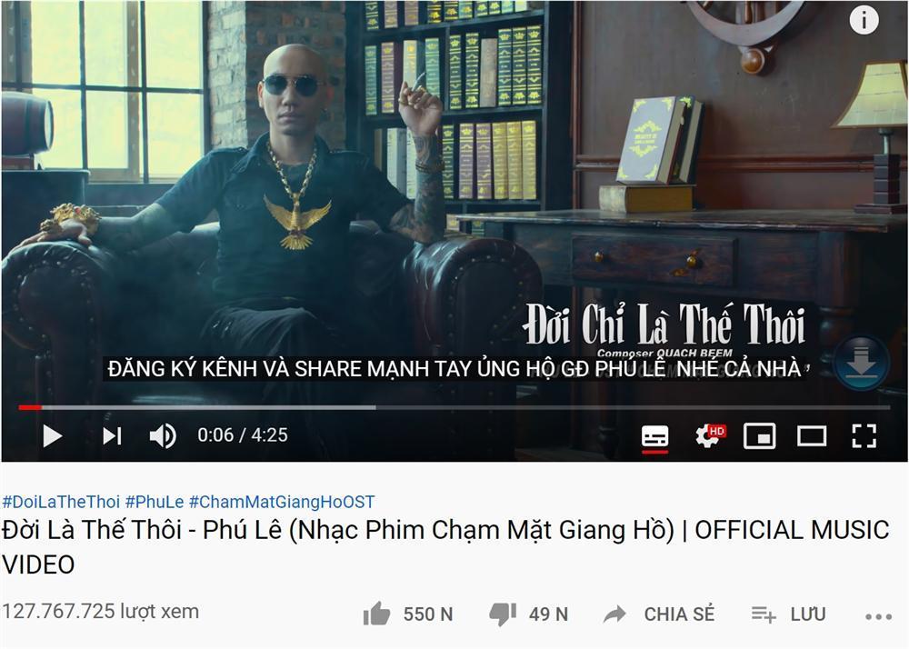 Trước khi xộ khám, giang hồ mạng Phú Lê từng sở hữu loạt MV trăm triệu view-5
