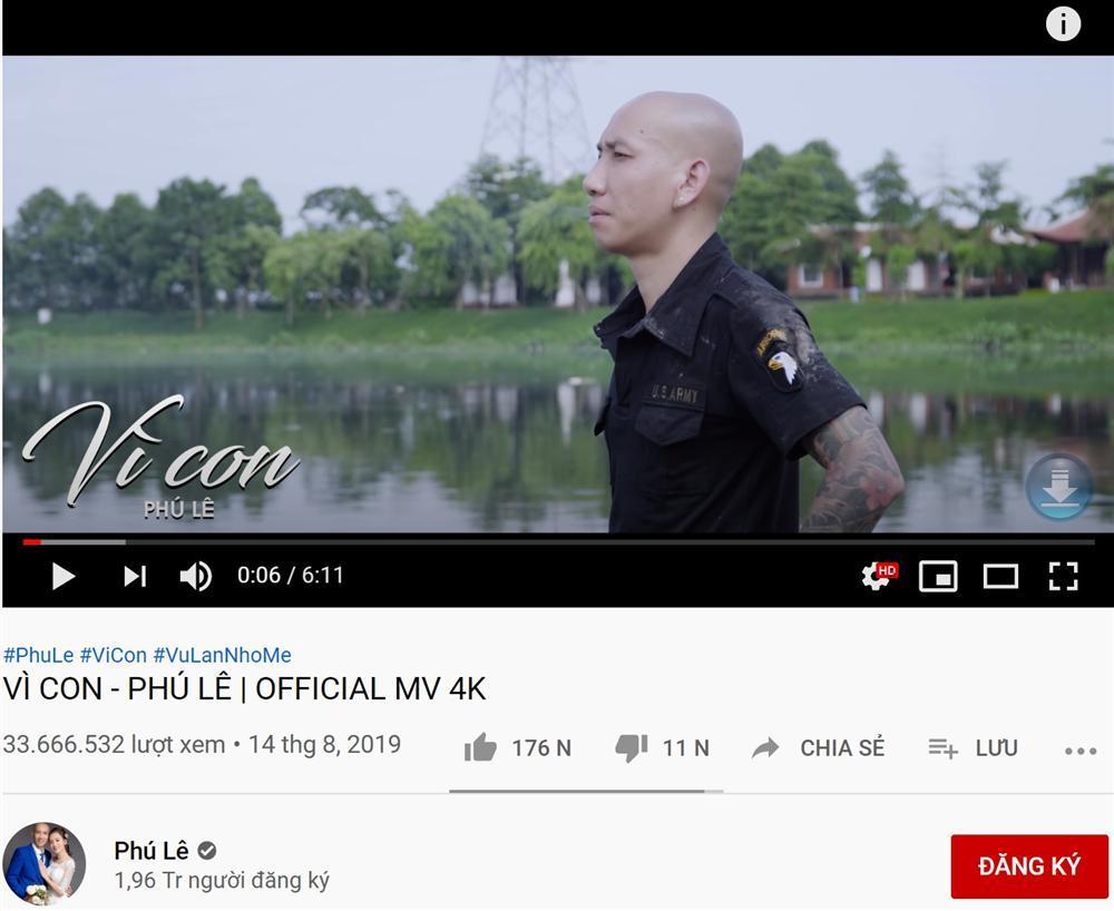 Trước khi xộ khám, giang hồ mạng Phú Lê từng sở hữu loạt MV trăm triệu view-8