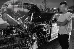 Vừa tậu xế sang 11 tỷ, thanh niên Sài Gòn ngậm trái đắng khi siêu xe lao xuống cầu hỏng nặng