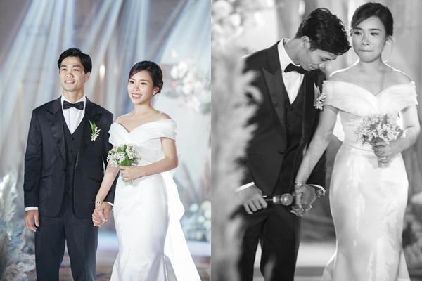 Lộ khoảnh khắc Công Phượng được vợ sắp cưới Viên Minh phục vụ tận chân răng-4