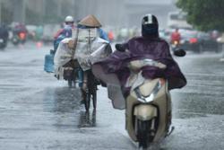 Dự báo thời tiết 7/8: mưa dông khu vực Bắc Bộ, Hà Nội nhiệt độ tăng nhẹ