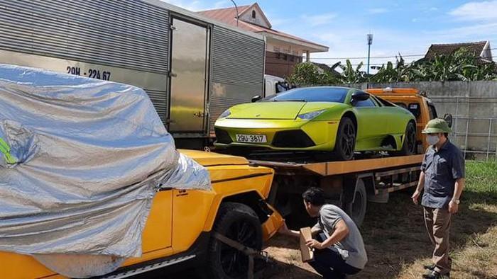 Quảng Bình: Hai siêu xe bị tạm giữ vì nghi có dấu hiệu nhập lậu-1