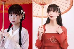 'Hot girl cổ trang' Trung Quốc lộ mặt thật già nua trên truyền hình