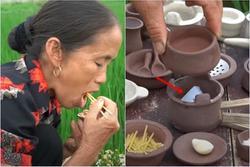 Làm đồ ăn siêu nhỏ, bà Tân bị soi dùng chất dễ gây ngộ độc để đun nấu