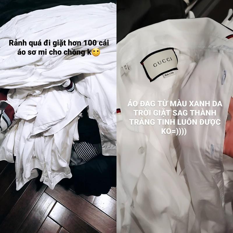 Giặt 100 chiếc áo cho chồng, Á hậu Tú Anh gián tiếp hé lộ cuộc sống hôn nhân-2