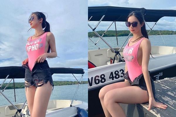Mỹ nhân Việt dùng bikini phối đồ chất lừ đi du lịch-4