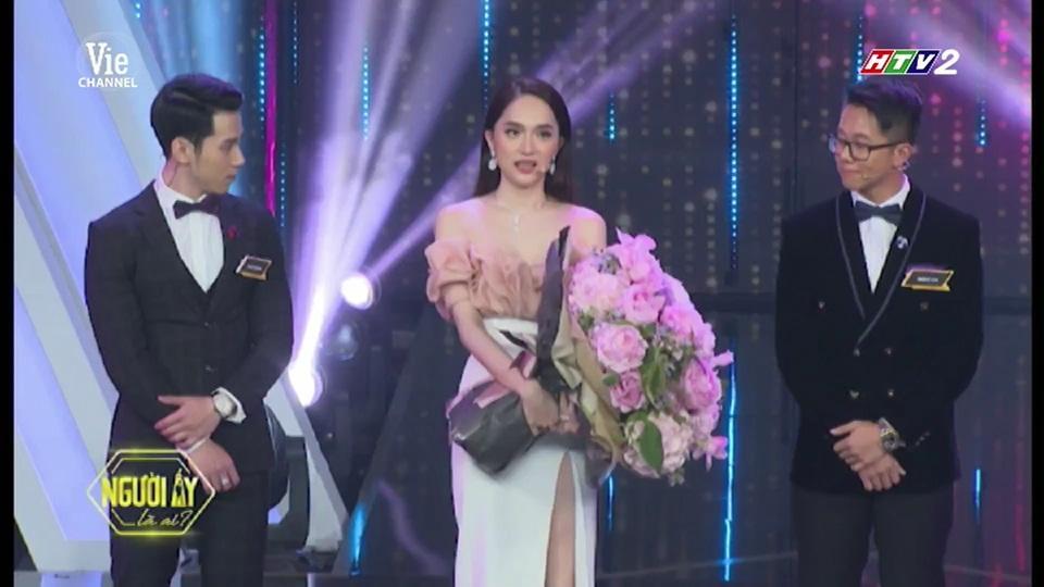 HOT: Hương Giang trao hoa cho đại gia Matt Liu tại Người Ấy Là Ai như lời đồn-12