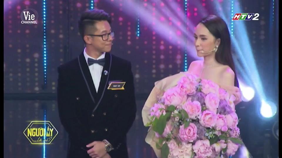 HOT: Hương Giang trao hoa cho đại gia Matt Liu tại Người Ấy Là Ai như lời đồn-13