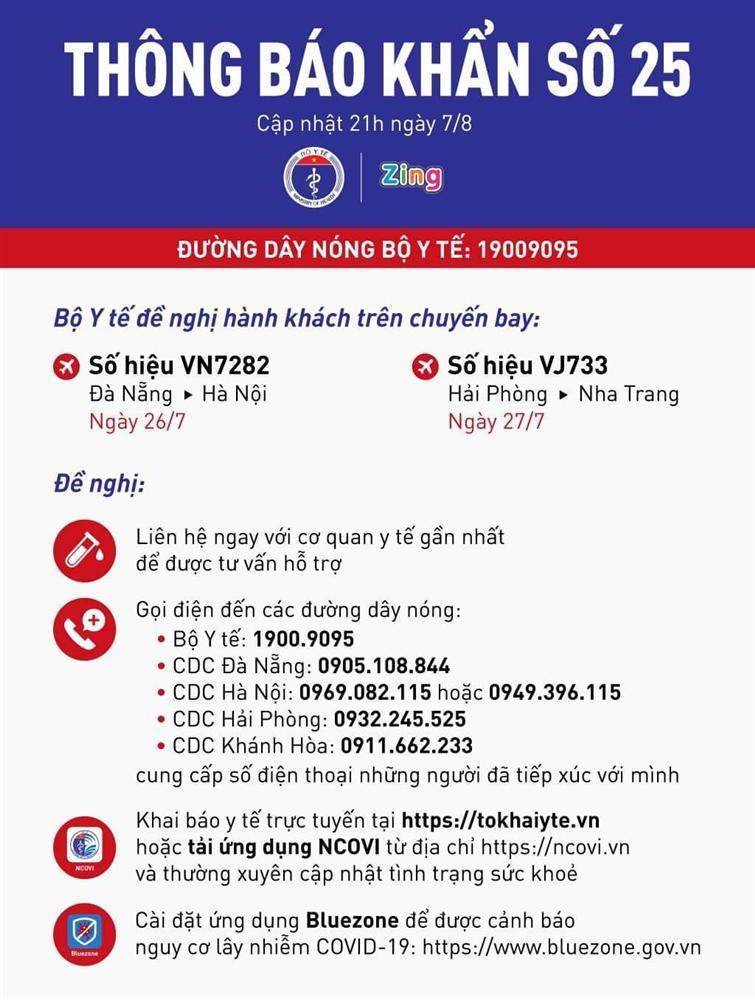 Thông báo KHẨN số 25: Tìm hành khách trên 2 chuyến bay VN7282 và VJ733-1