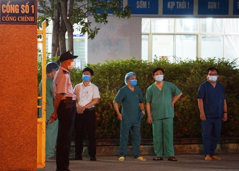 Bệnh viện C Đà Nẵng lúc 0h ngày 8/8 khi chính thức dỡ phong tỏa-2