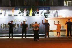 Bệnh viện C Đà Nẵng lúc 0h ngày 8/8 khi chính thức dỡ phong tỏa