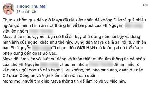Diễn viên Maya phản ứng gay gắt khi bị nhắc tên trong bài viết single mom gạ tình trai trẻ-1
