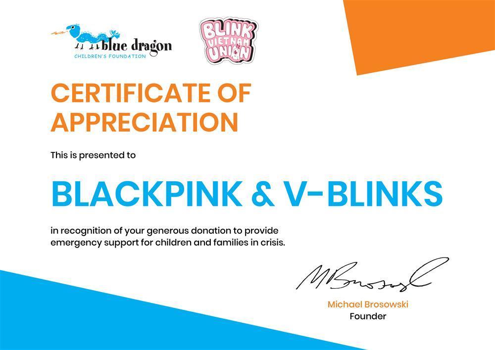 V-BLINKS làm từ thiện ăn mừng BLACKPINK 4 năm debut-2