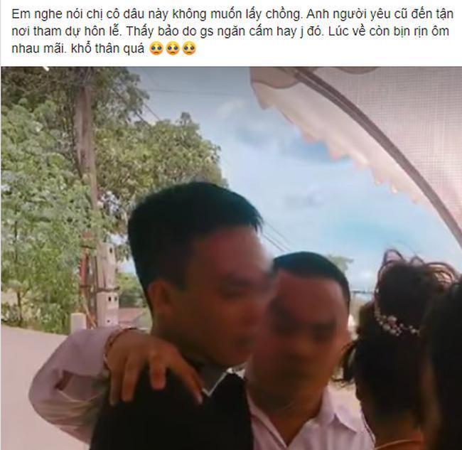 Người đàn ông có biểu hiện lạ với cô dâu sau đám cưới, dân tình thi nhau gọi tên người yêu cũ và sự thật-1