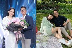 Khoảnh khắc tình tứ của Hương Giang và CEO người Singapore