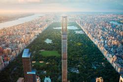 Tòa nhà 'mỏng' nhất thế giới, có chiều cao gấp 24 lần chiều rộng