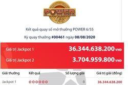 Hai người cùng trúng giải Jackpot, thêm tỷ phú Vietlott tháng 8 phải chia đôi tiền