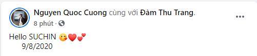 HOT: Đàm Thu Trang hạ sinh con gái cho Cường Đô La-1