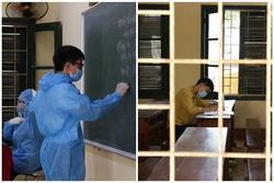 Thanh Hóa: Phòng thi dự phòng 'kích hoạt', duy nhất 1 thí sinh ngồi làm
