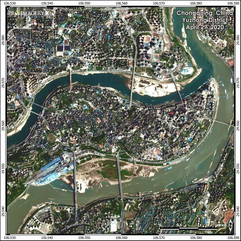 Hình ảnh loạt thành phố Trung Quốc ngập trong lũ, đập Tam Hiệp mở 6 cửa xả-2