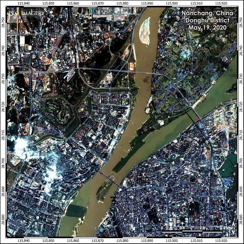Hình ảnh loạt thành phố Trung Quốc ngập trong lũ, đập Tam Hiệp mở 6 cửa xả-5