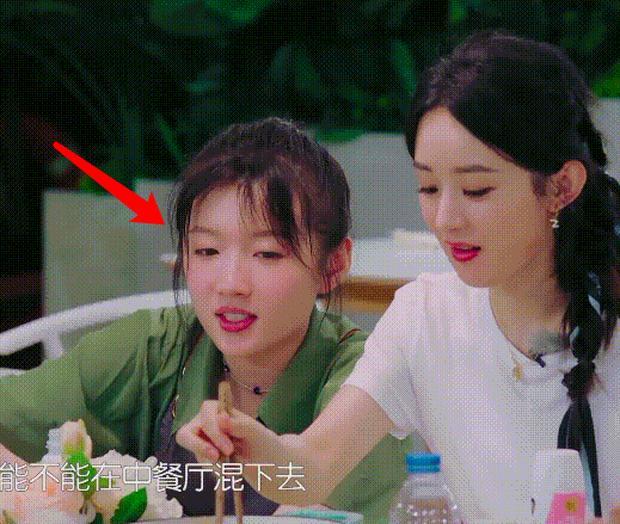 Triệu Lệ Dĩnh gây tranh cãi vì thói quen mất vệ sinh khi ăn cơm, Cnet soi thái độ của Huỳnh Hiểu Minh-2