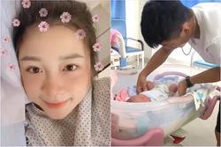 Nhan sắc bà xã Phan Văn Đức sau 3 ngày sinh em bé gây chú ý
